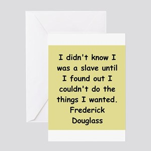 frederick douglass gifts and Greeting Card